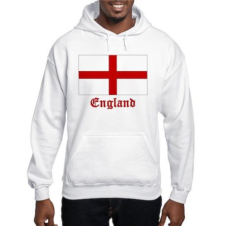 England Flag Hooded Sweatshirt