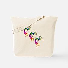 Three Kokopelli #33 Tote Bag