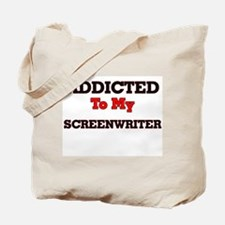 Addicted to my Screenwriter Tote Bag