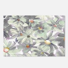 Hand Painted Wildflowers Postcards (Package of 8)