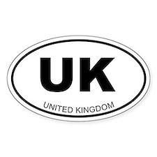 United Kingdom Oval Decal