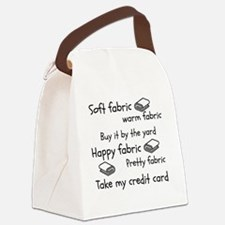 Cute Soft kitty Canvas Lunch Bag