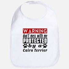 Protected By Cairn Terrier Dog Bib