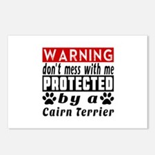 Protected By Cairn Terrie Postcards (Package of 8)