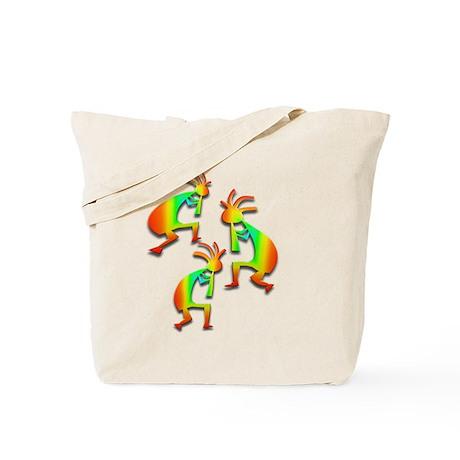 Three Kokopelli #36 Tote Bag