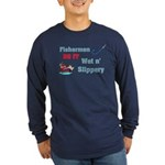 Fishermen DO IT Long Sleeve Dark T-Shirt