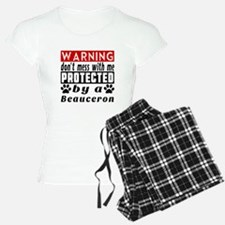 Protected By Beauceron Dog Pajamas