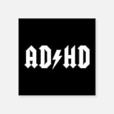 """ADHD Square Sticker 3"""" x 3"""""""