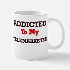Addicted to my Telemarketer Mugs