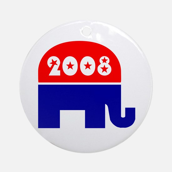 GOP * 2008 * Ornament (Round)