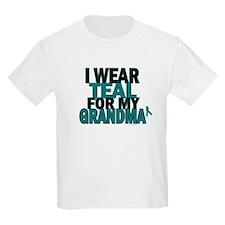 I Wear Teal For My Grandma 5 T-Shirt