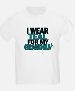 I Wear Teal For My Grandma 5 T-Shirt