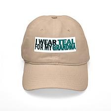 I Wear Teal For My Grandma 5 Baseball Cap