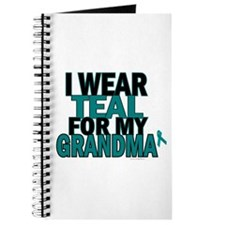 I Wear Teal For My Grandma 5 Journal