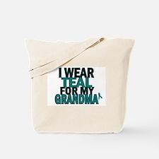 I Wear Teal For My Grandma 5 Tote Bag