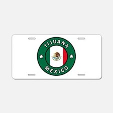 Tijuana Mexico Aluminum License Plate