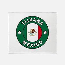 Tijuana Mexico Throw Blanket