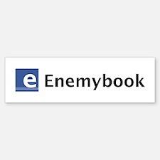 Enemybook Bumper Bumper Bumper Sticker