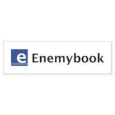 Enemybook Bumper Bumper Sticker