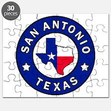 San Antonio Texas Puzzle