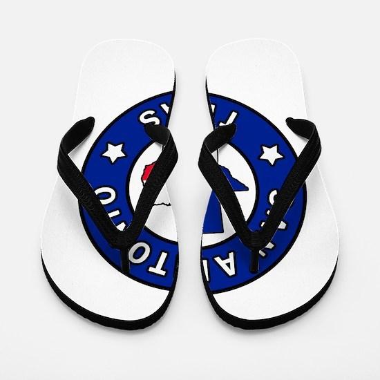 San Antonio Texas Flip Flops
