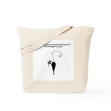 Schrödinger's Pussy Cat Tote Bag
