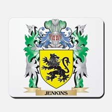 Jenkins Coat of Arms - Family Crest Mousepad