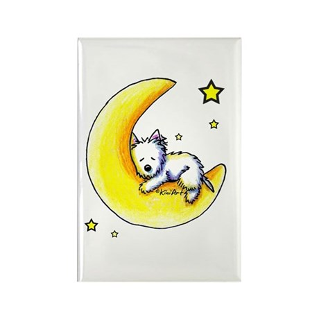 Lunar Love Rectangle Magnet (100 pack)