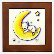 Lunar Love Framed Tile