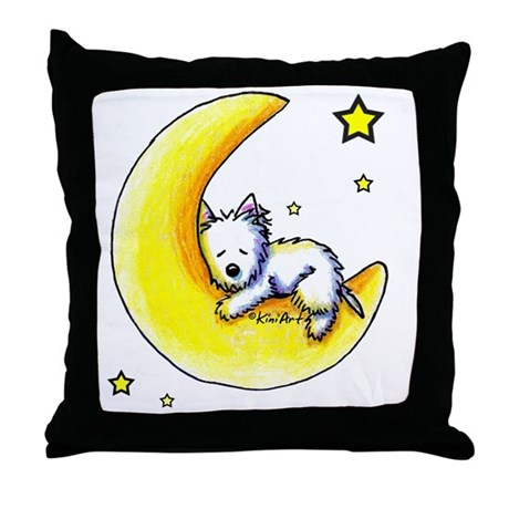 Lunar Love Throw Pillow