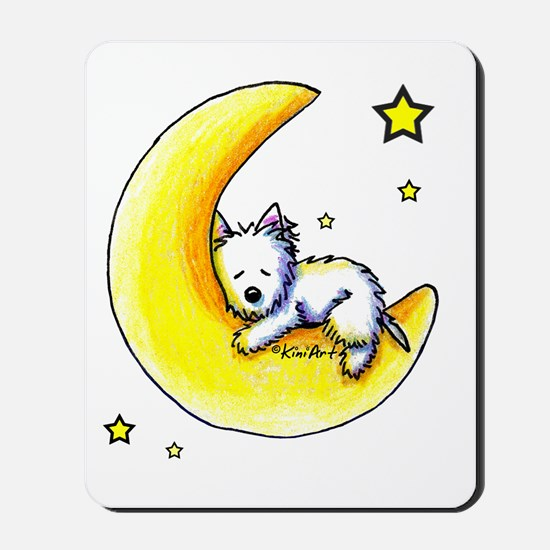Lunar Love Mousepad