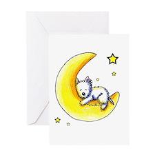 Lunar Love Greeting Card