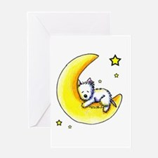 Lunar Love Greeting Card