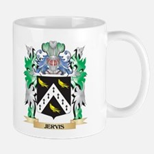 Jervis Coat of Arms - Family Crest Mugs
