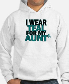 I Wear Teal For My Aunt 5 Hoodie