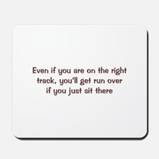Right Track Mousepad