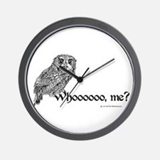 Who Owl Wall Clock
