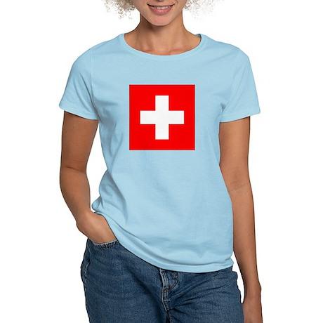 Switzerland Women's Light T-Shirt