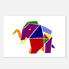 Origami Elephant Postcards (Package of 8)