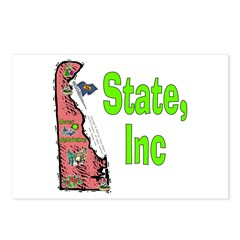 DE-State, Inc. Postcards (Package of 8)