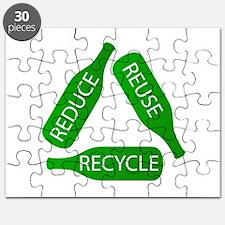 Unique Renew reuse recycle Puzzle