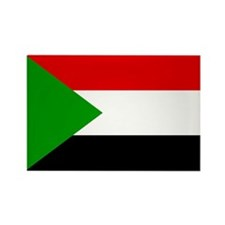 Sudan Rectangle Magnet