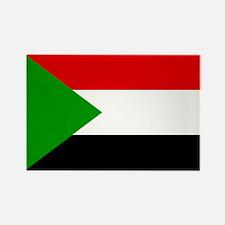 Sudan Rectangle Magnet