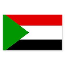 Sudan Rectangle Decal