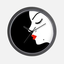 Unique Lipstick beauty Wall Clock