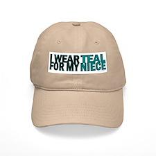I Wear Teal For My Niece 5 Baseball Cap