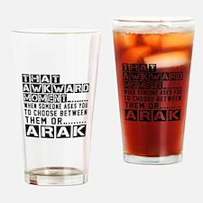 Arak Awkward Designs Drinking Glass