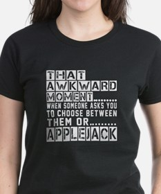 Applejack Awkward Designs Tee