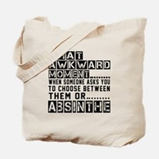 Absinthe Awkward Designs Tote Bag