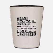 Absinthe Awkward Designs Shot Glass